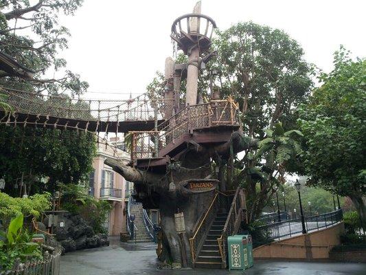 tarzan treehouse